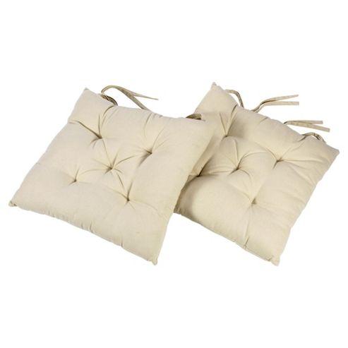 Tesco Cream Seat Pads 2 Pack