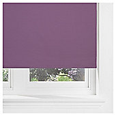Thermal Blackout Blind, Plum 120Cm