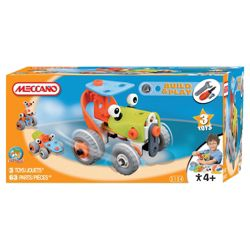 Meccano Build & Play Tractor