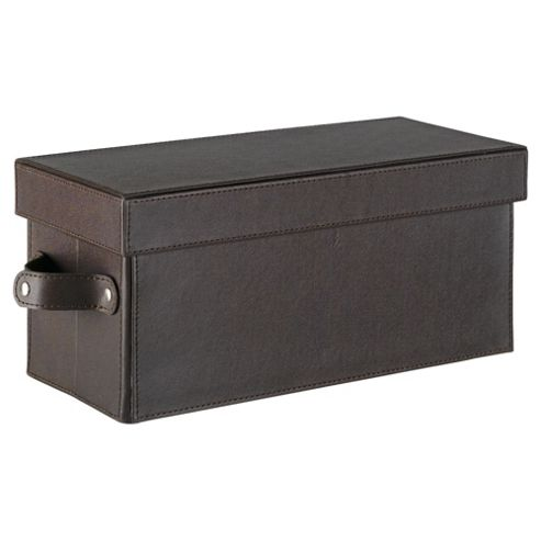 Faux Leather Cd Box