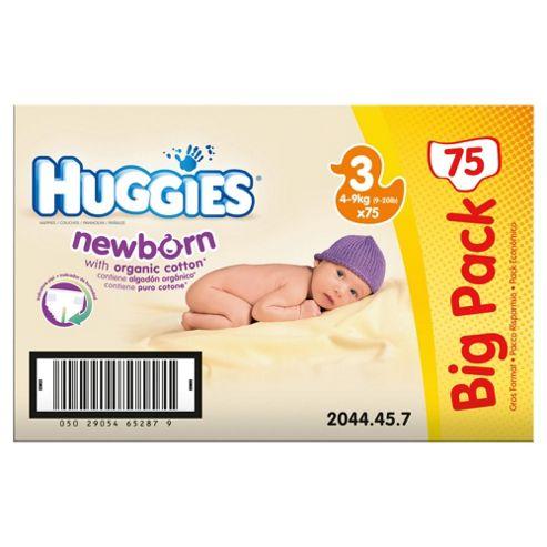 Huggies Newborn Size 3 Big Pack (x75)