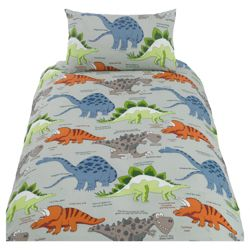 Tesco Kids Dinodippy Printed Duvet Set