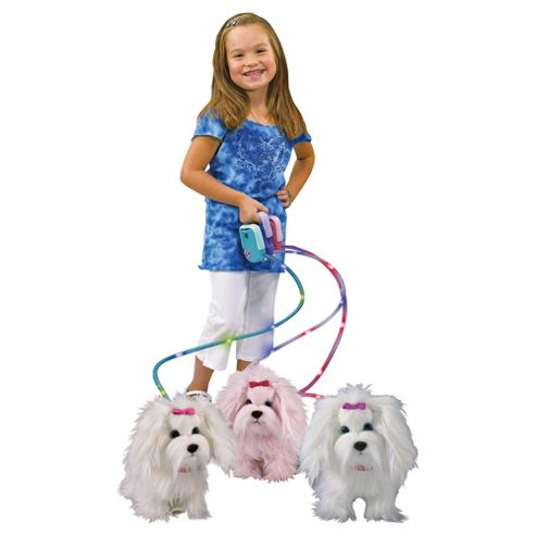 Vivid Imagination Animagic Fluffy Go Walkies White