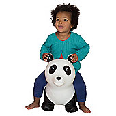 Happy Hopperz White  Panda Bouncing Animal