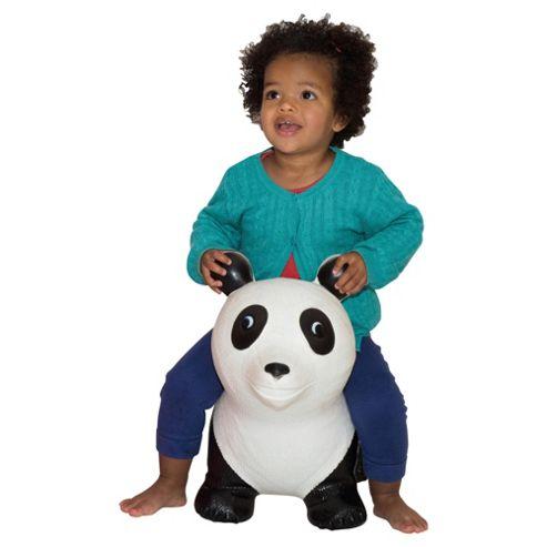 Happy Hopperz White  Panda Bouncing Animal