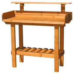 Plum Products Ltd Delux Wooden Potting Table