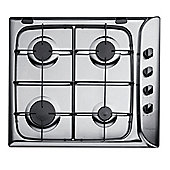 Hotpoint G640SX, Stainless Steel, Gas Hob, 60cm