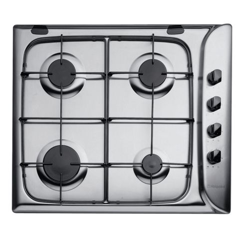 Hotpoint Newstyle Gas Hob, G640SX, Stainless Steel