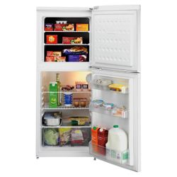 Beko TDA531 Fridge Freezer, Energy Rating A, Width 54.5cm. White