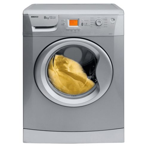 Beko WME8227S silver washing machine