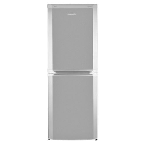 Beko CDA539FS Fridge Freezer, Energy Rating A, Width 54.5cm. Silver