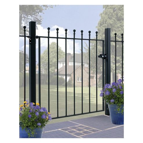 Burbage Manor Ball Single Metal Gate Ma05