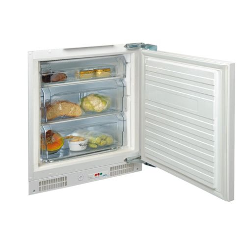 Whirlpool AFB637 Integrated Under Counter Freezer, Freezer Capacity: 106 Litres, Energy Rating A, Width 60.0cm. White