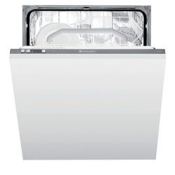 Hotpoint LFT228A FS Integrated Fullsize Dishwasher, A Energy Rating. White