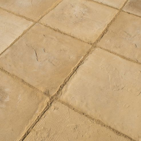 Stamford Harvest Gold 600x600 Paving