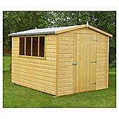 10x6 Finewood Classic Apex Shed With Topcoat
