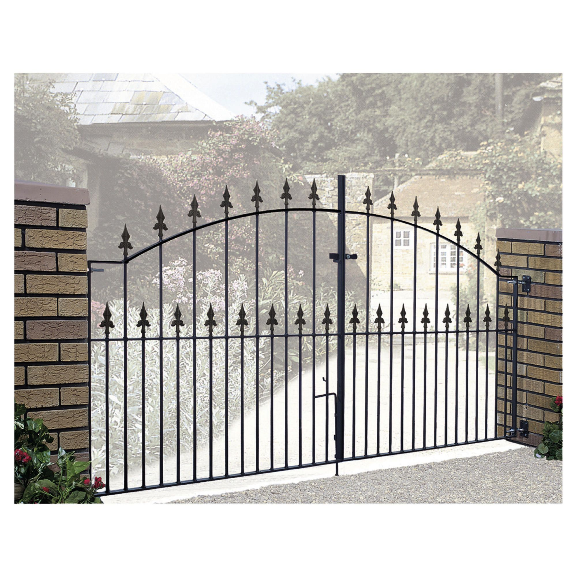 Burbage Saxon Spear Double Metal Gate SA13 at Tesco Direct