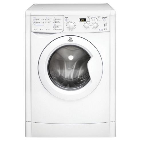Indesit Ecotime Washer Dryer, IWDD7143, 7KG Load, White