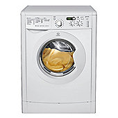 Indesit IWDD7143 Washer dryer, 7kg Wash Load, 1400 RPM Spin, B Energy Rating. White
