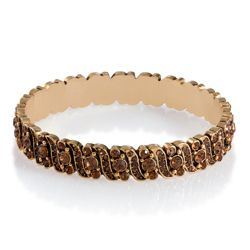 Pave Colorado Crystal Bangle
