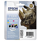 Epson Multipack 3-Colour T1006 DURABrite Ultra Ink