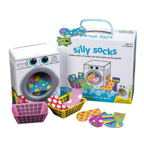 Chimp and Zee Silly Socks game