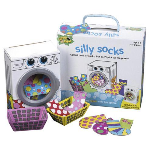 Game Socks Zee Silly Socks Board Game
