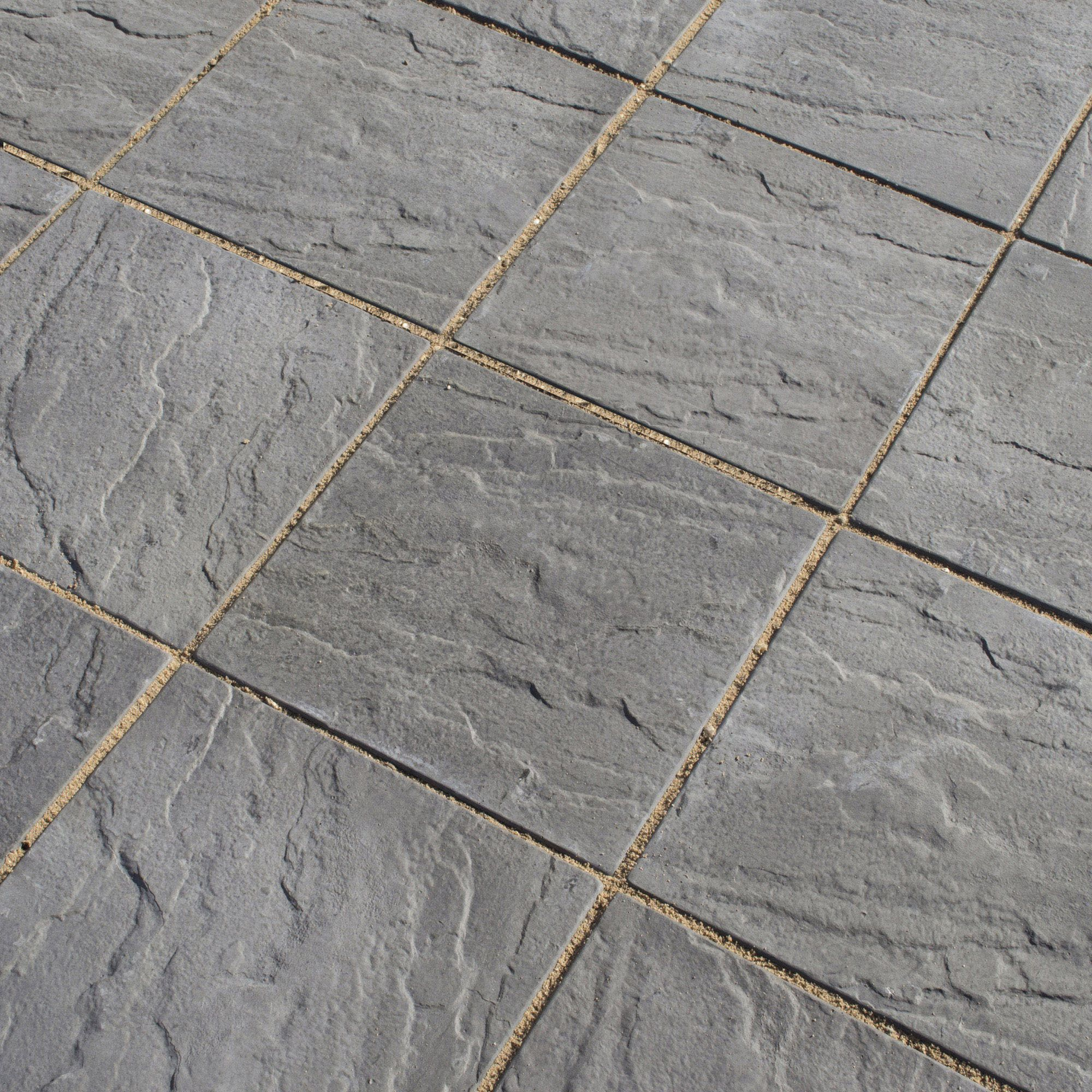 Oxford Cornish Slate 300x300 Paving at Tesco Direct