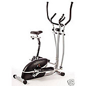V-fit 2-in-1 Cycle/Cross Trainer