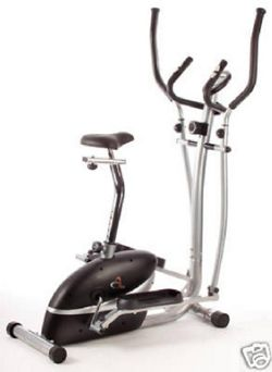 V-fit 2-in-1 Cycle/Cross Trainer.