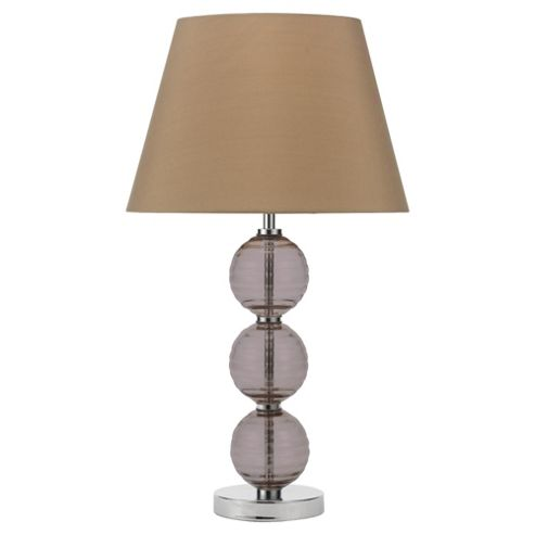 Tesco Lighting 3 Ball Table Lamp, Smoky