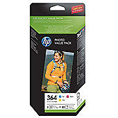 HP 364 Series Photo Value Pack 10 x 15 cm (85 Sheets)