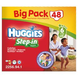 Huggies Step-In Big Pack Size 6 (x48)