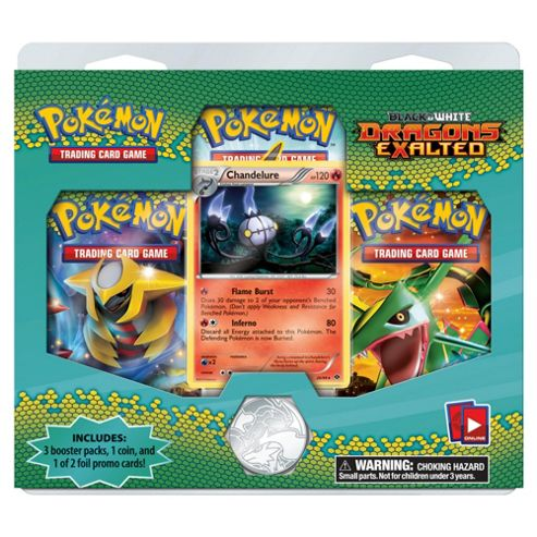POKEMON TRIPLE BOOSTER PACK- Assortment – Colours & Styles May Vary