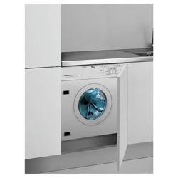 Whirlpool AWOD050 integrated Washing Machine 6kg Wash Load, 1200 RPM Spin, A+ Energy Rating. White