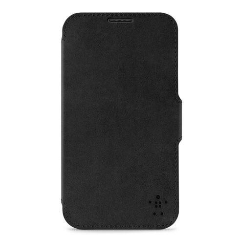 Belkin Premium Leather Snap Folio For Samsung Galaxy Note II In Black
