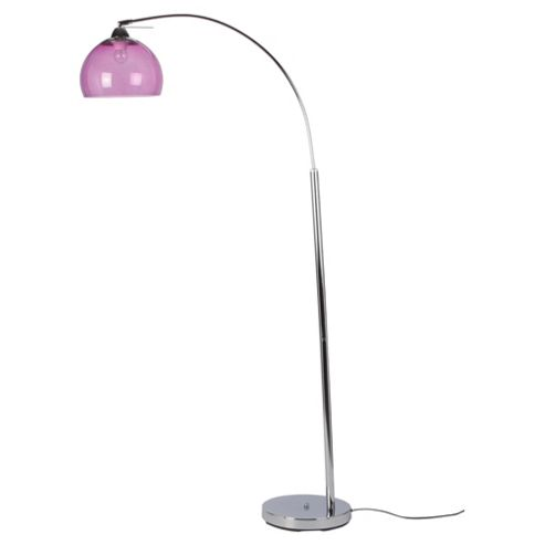 Tesco Lighting Bobble Floor Lamp, Plum