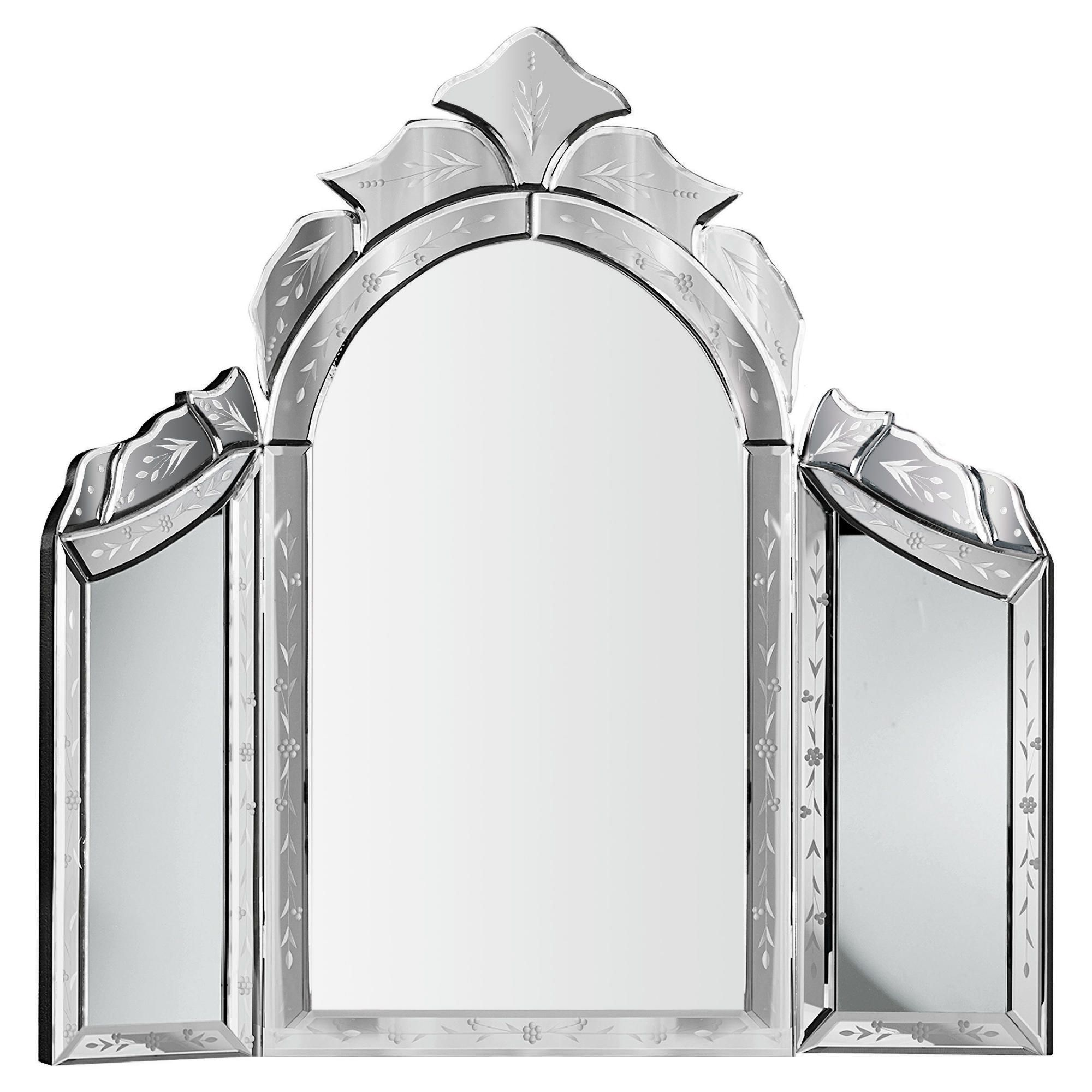 Venetian Dressing Table Mirror 68x65cm Dressing Tables And Mirrors Uk