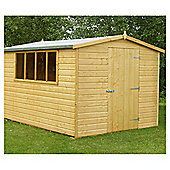 12x8 Finewood Classic Apex Shed with Topcoat