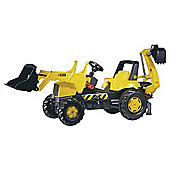JCB Pedal Backhoe Ride-On Loader