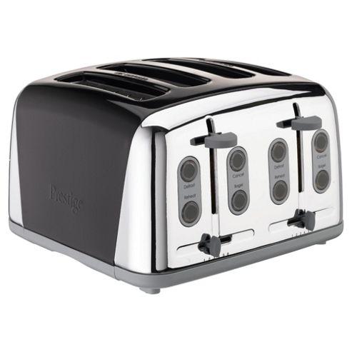 Meyer Prestige PR-50635 Four Slice Toaster Black