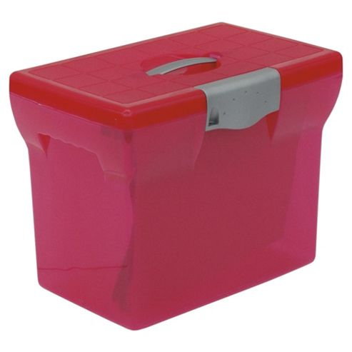 Pierre Henry Freestyle A4 Box File, Pink