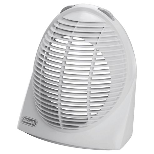 Delonghi HVE134 Fan Heater, 2400W - White