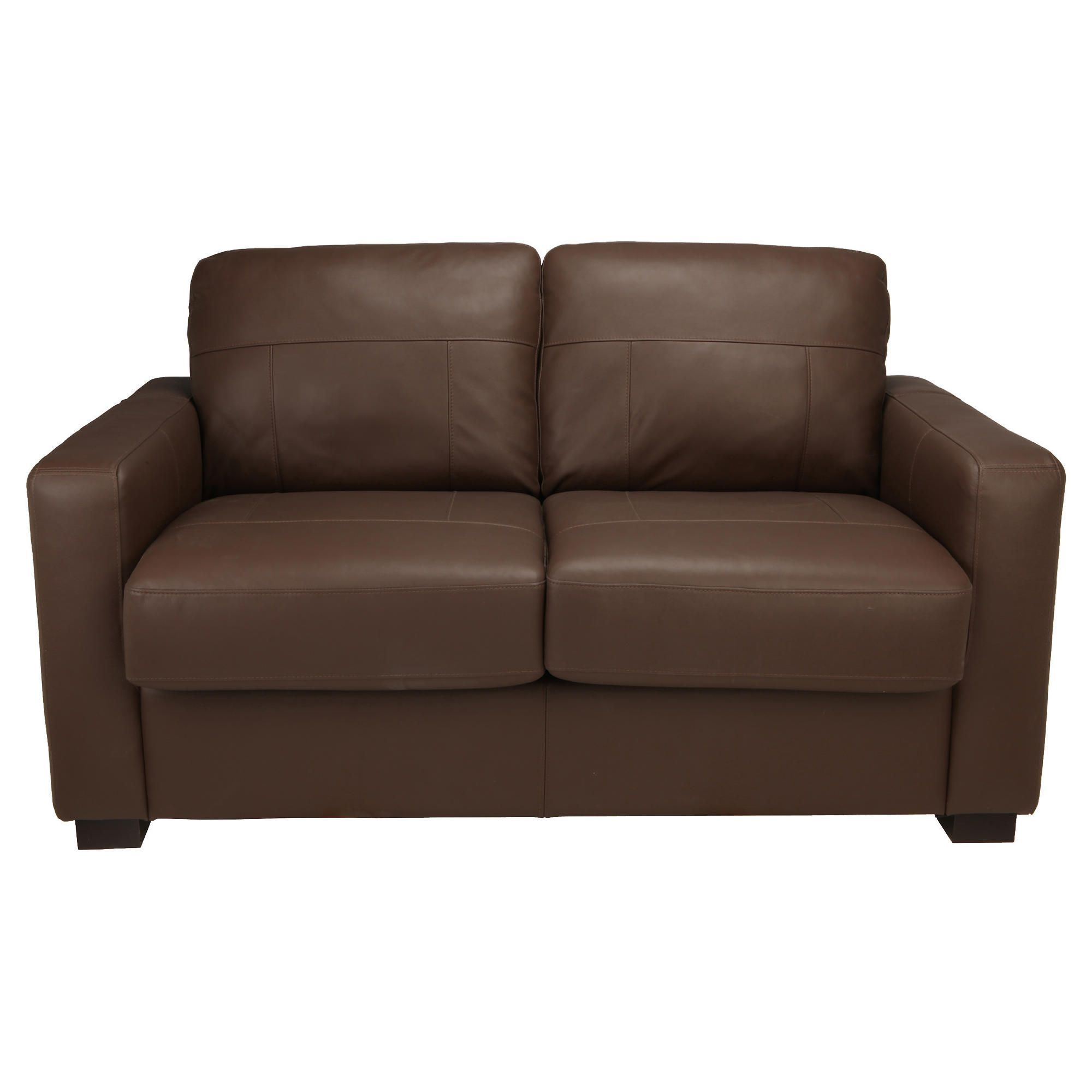 Colorado Leather Sofabed, Brown at Tescos Direct
