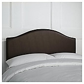 Seetall Laredo Headboard Chocolate Faux Leather Double