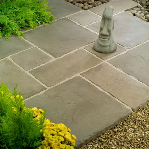 Stamford Pewter Patio Kit 5.76m2