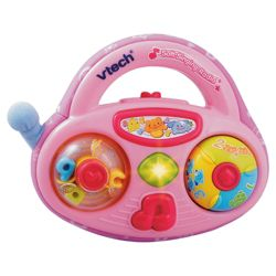 VTech Pink Soft Singing Radio