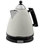 DeLonghi KBE3014 1.7 litre Kettle Cream