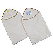 Tesco My Baby'S 1 pack Emb Cuddle Robe Natural
