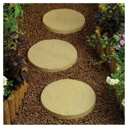 Oxford Mellow Buff Stepping Stones 400mm